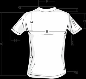 Определение размеров мужской футболки нашего каталога!